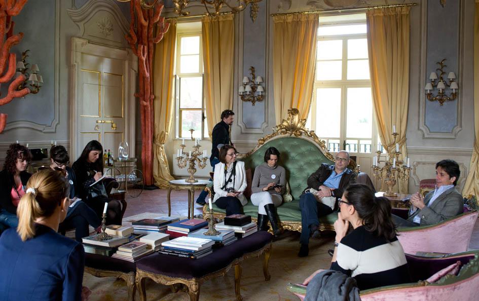 Salotto Villa Sigurtà