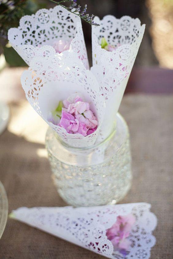 Alternativa al lancio del riso: i petali