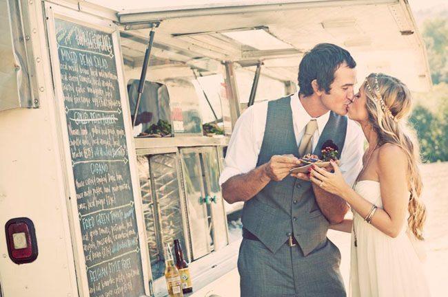 alternative al pranzo di nozze: street food