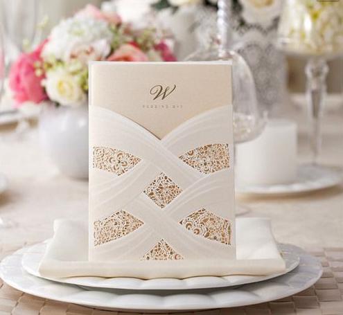 Partecipazione di nozze elegante