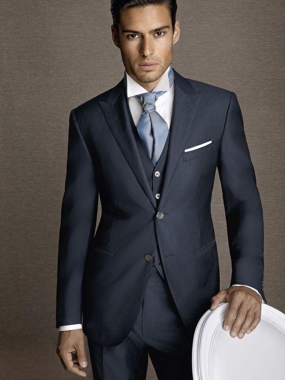 abito da cerimonia uomo blu