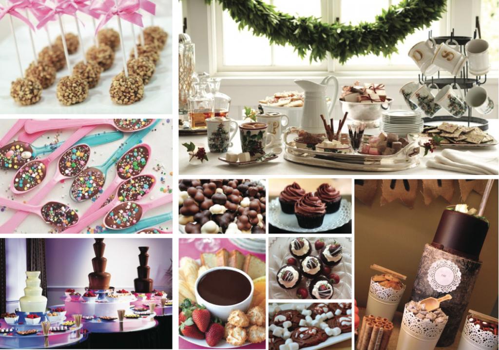 Alternative al pranzo di nozze: cioccolato party
