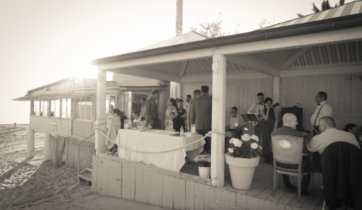 fiori matrimonio in giugno per una location sulla spiaggia