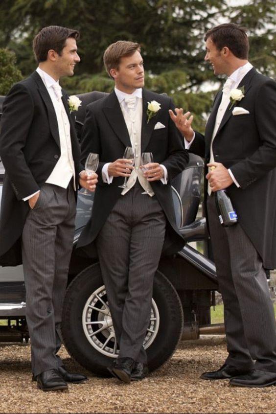 vestito sposo: il tight