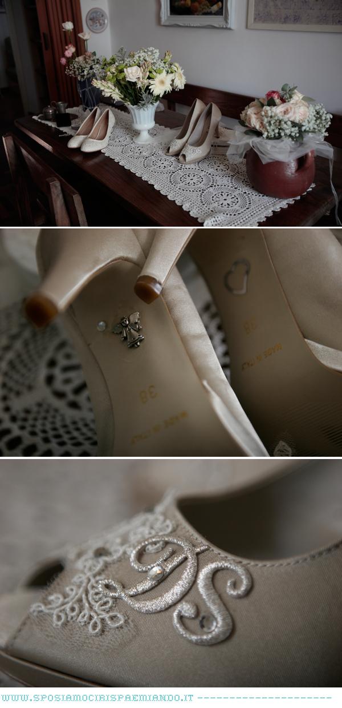 scarpe da sposa di ricambio