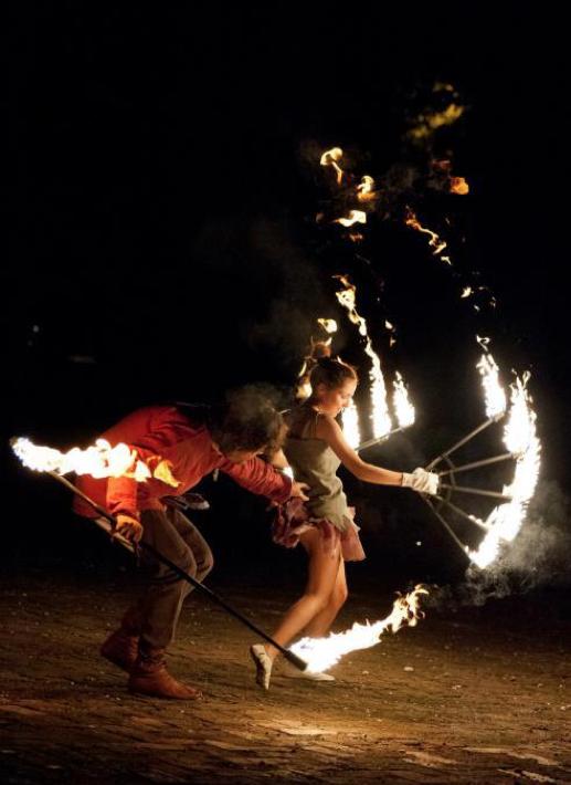 giochi di fuoco per un matrimonio a tema Disney