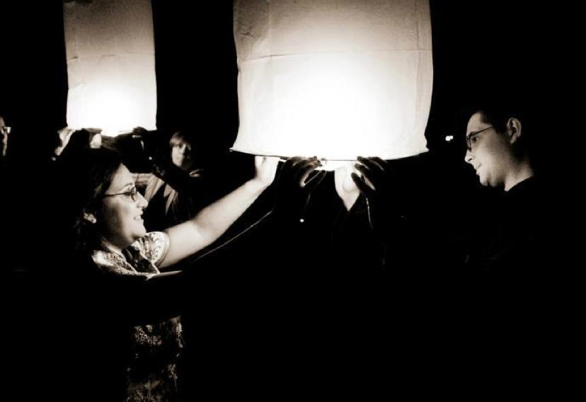 lanterne volanti per matrimonio a tema Disney