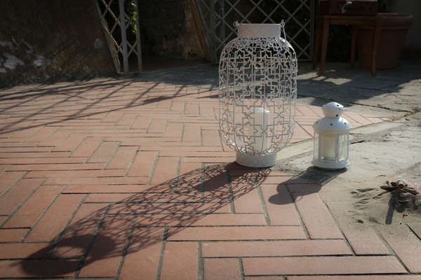 lampada Socker Ikea in un matrimonio