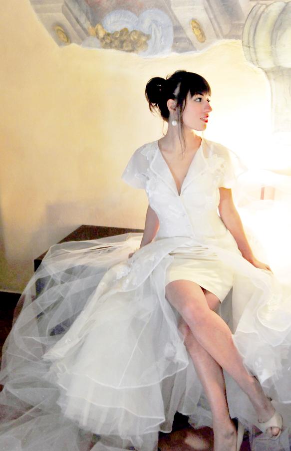 abito da sposa perfetto per una sposa non convenzionale