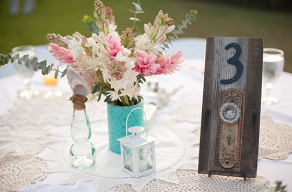 Segnaposto matrimonio fai da te shabby chic sr blog for Table 52 number