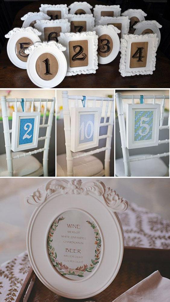 10 prodotti ikea pi usati per decorare un matrimonio sr for Cornici semplici per foto