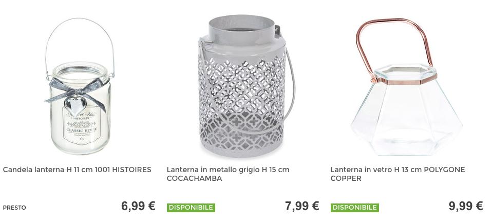 Decorazioni matrimonio fai da te: lanterne Maisons du Monde