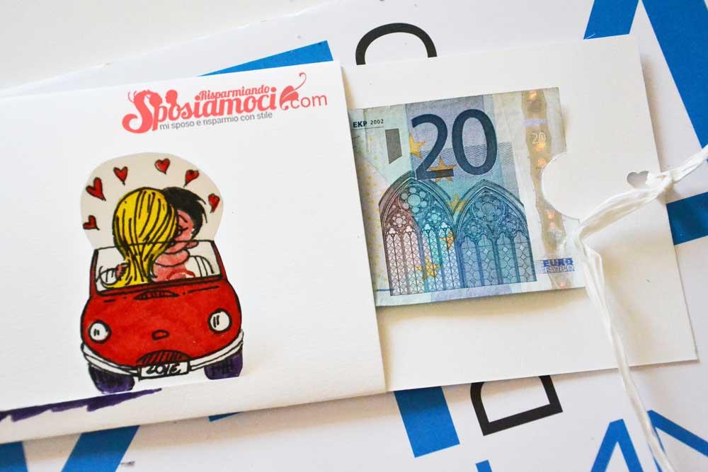 Amato Busta porta soldi matrimonio fai da te Love is | SR Tutorial OO71