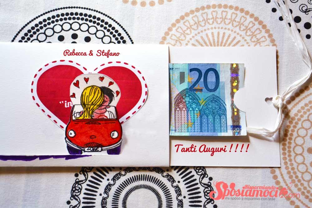 spesso Busta porta soldi matrimonio fai da te Love is | SR Tutorial JE66