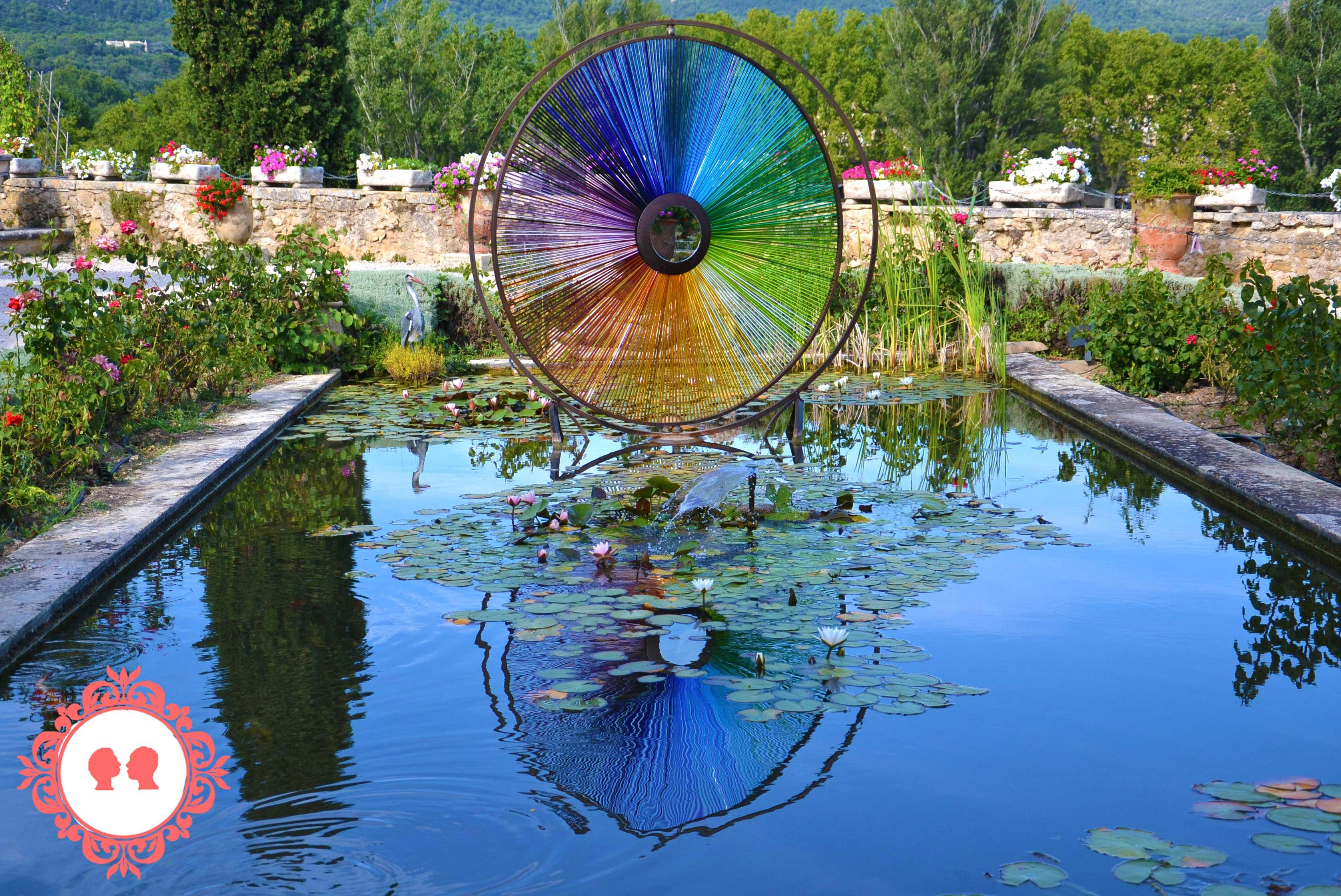 cosa vedere in Provenza: il giardino del Castello di Lourmarin