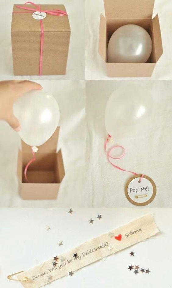 partecipazione matrimonio con palloncino
