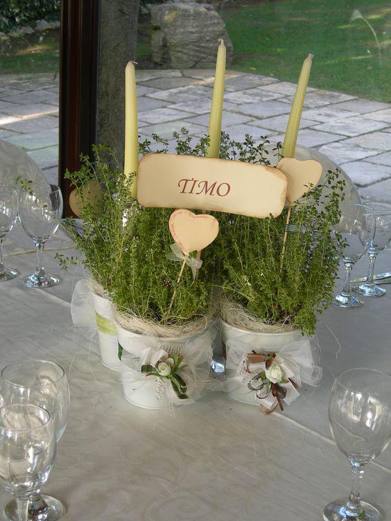 Fiori matrimonio alternative: le piante aromatiche