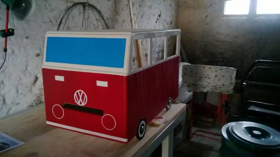 stampante photo booth per matrimonio in volkswagen