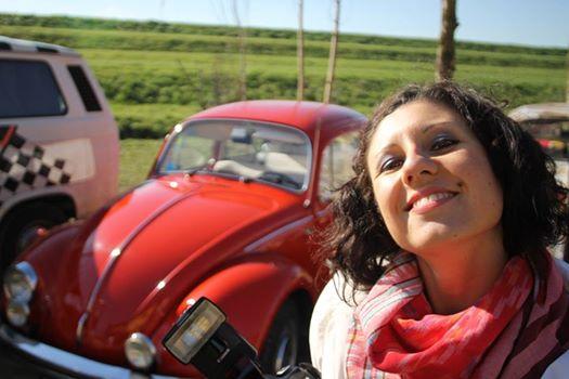 Federica Tavella ideatrice del photo booth per matrimonio in volkswagen