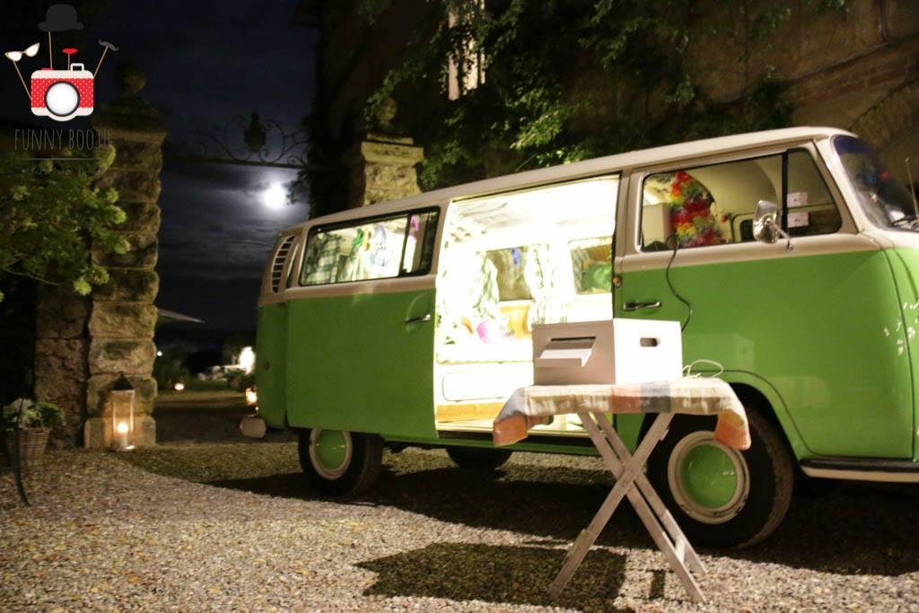 Photo booth per matrimonio in Volkswagen