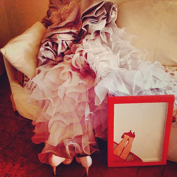matrimonio pic nic con battesimo: abito da sposa H&M