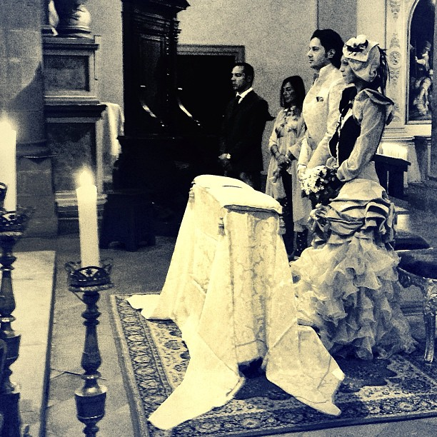 matrimonio con battesimo a San Sepolcro