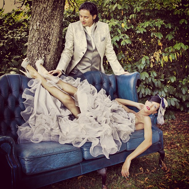 foto sposi matrimonio pic nic