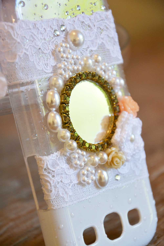 cover sposa in pizzo con specchio per matrimoni social