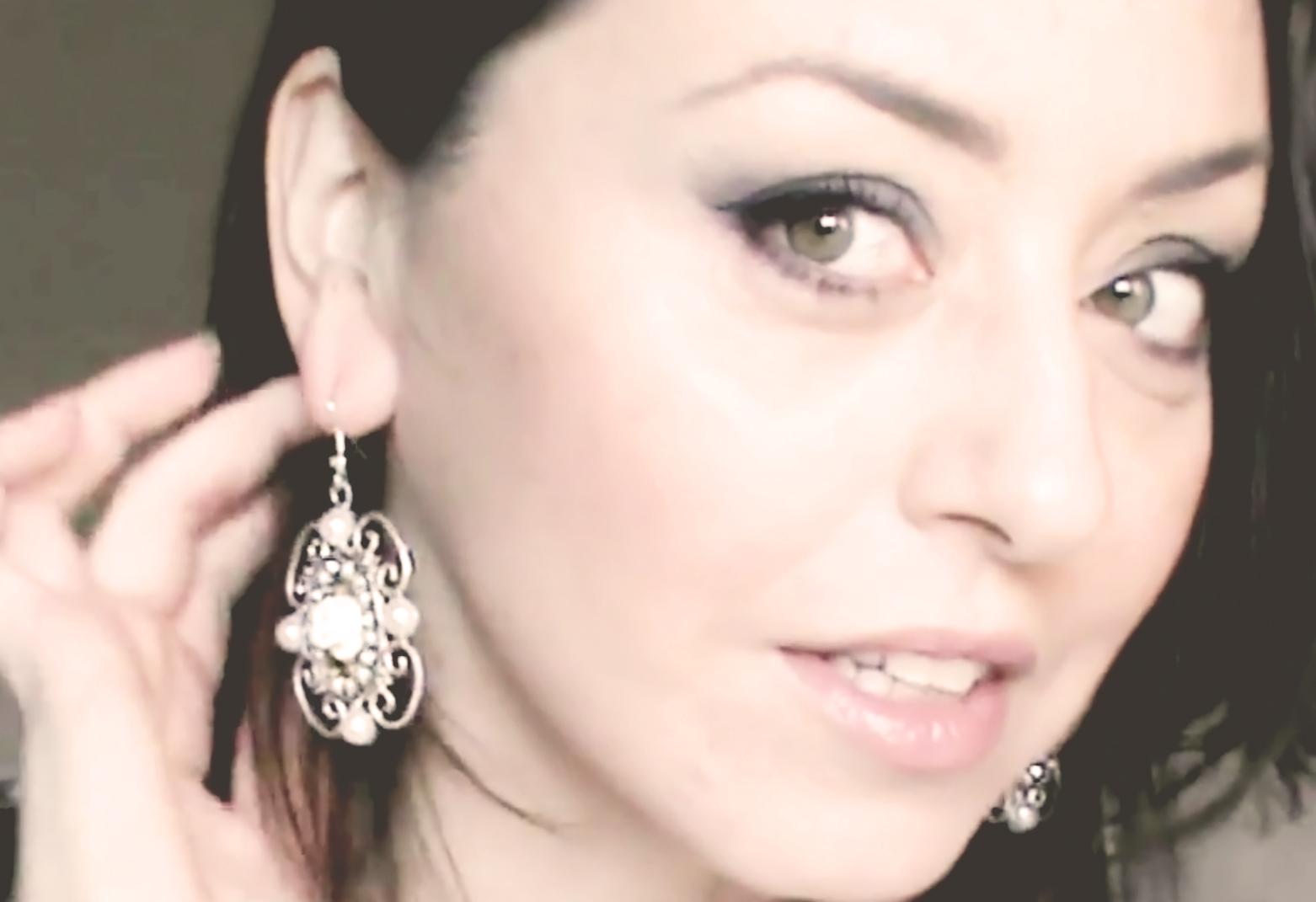 orecchini sposa artigianali
