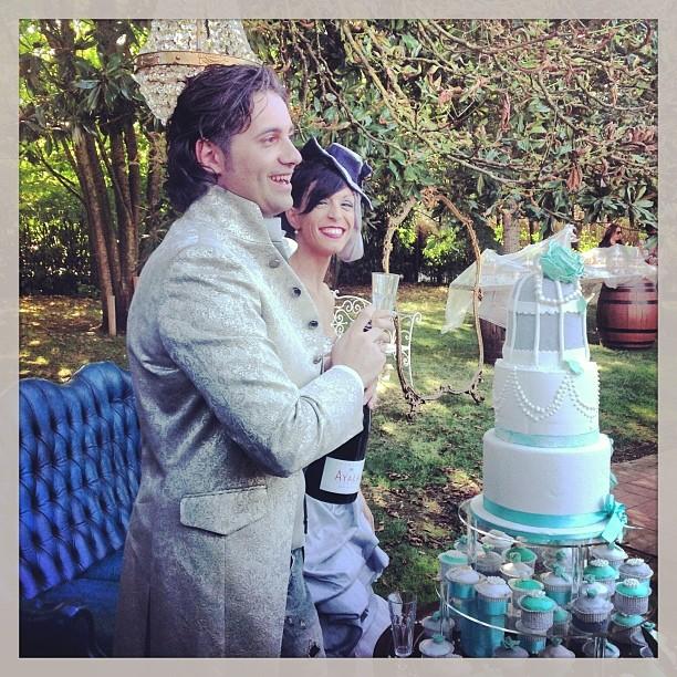 matrimonio pic nic: torta nuziale