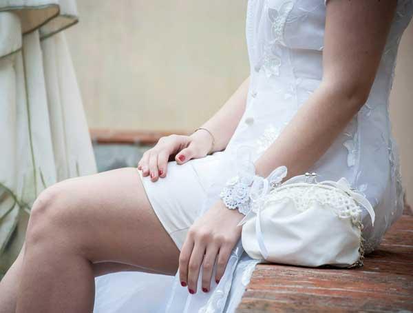 borsa sposa fatta a mano