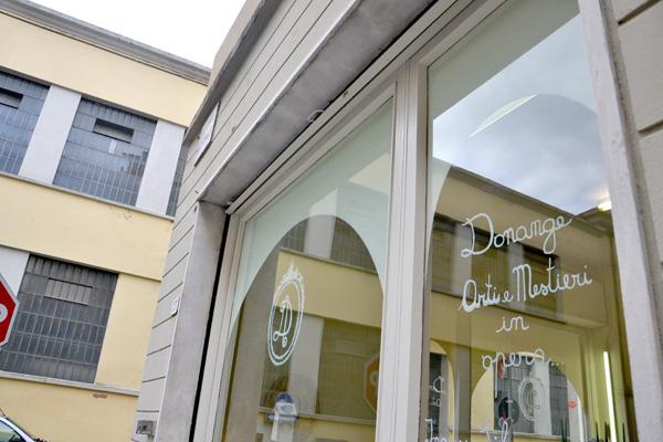 negozio Donange Bijoux, gioielli da sposa fatti a mano