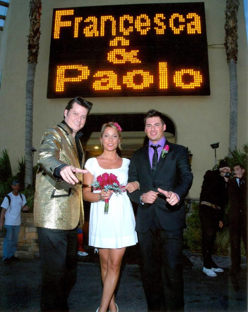 Matrimonio Simbolico Las Vegas : Matrimonio low cost a las vegas paolo e francesca sr