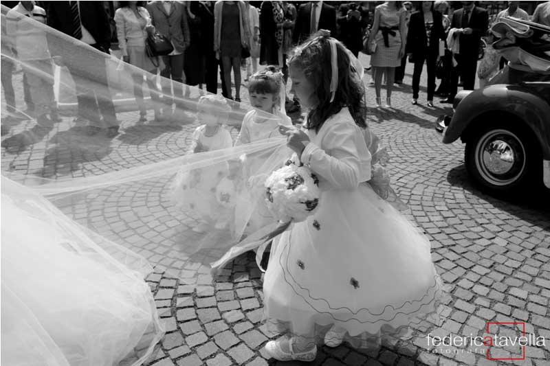 matrimonio con damigelle d'onore