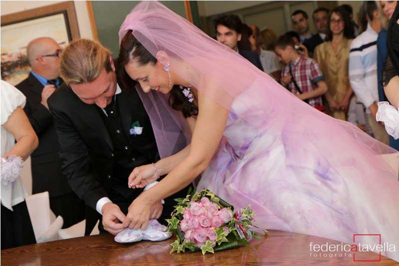 matrimonio in viola