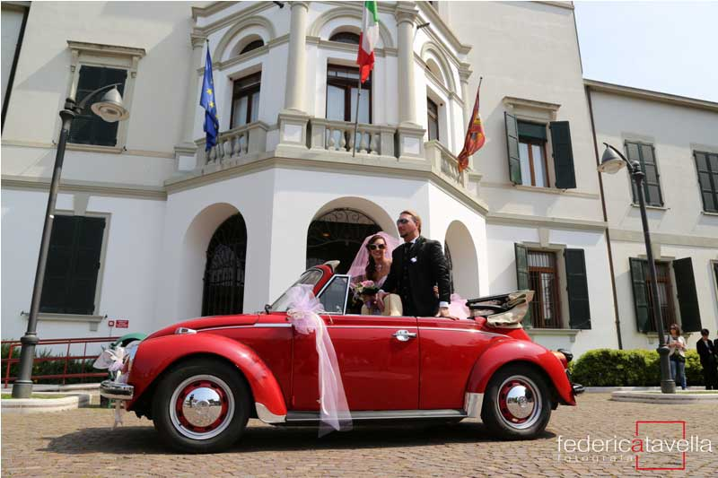 maggiolino cabrio per matrimonio