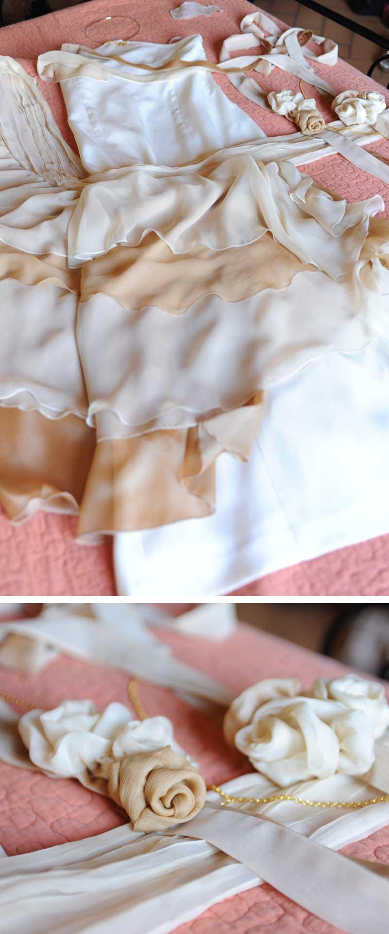 abito sposa personalizzato per donna anni 40