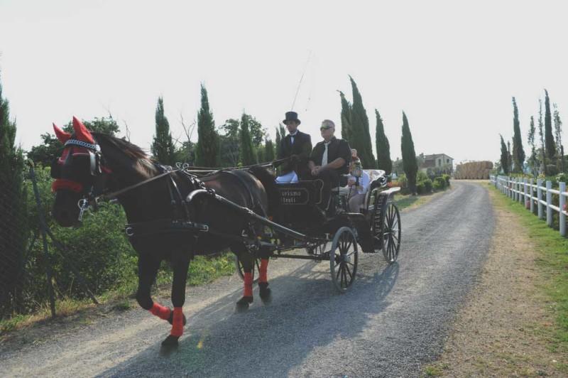 matrimonio in stile americano in Toscana