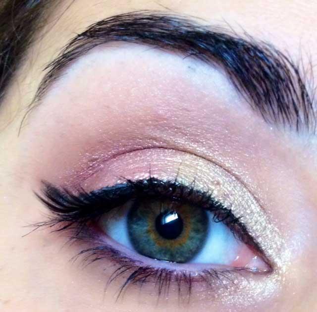 makeup sposa occhi verdi