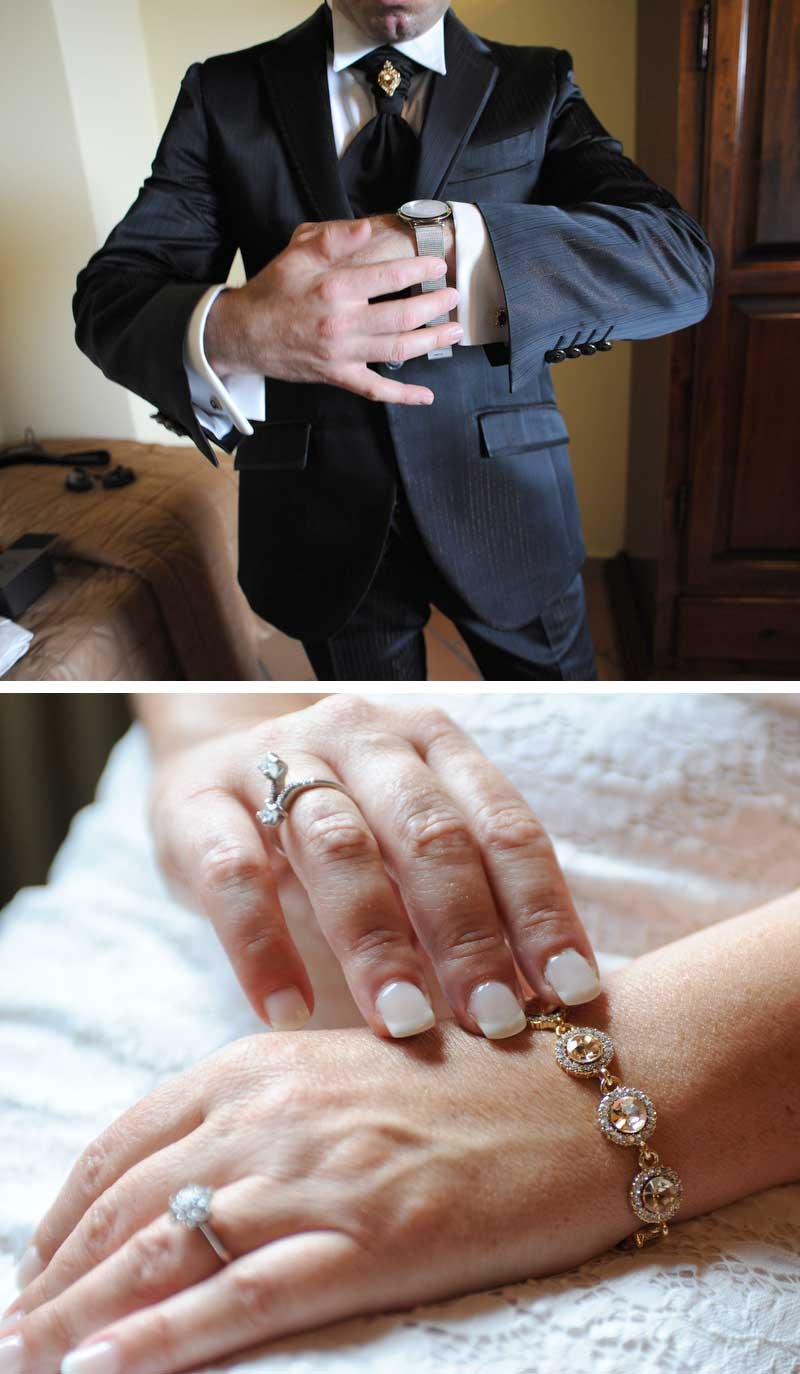 accessori matrimonio in stile americano
