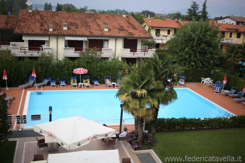 piscina Hotel Porto Azzurro Sirmione