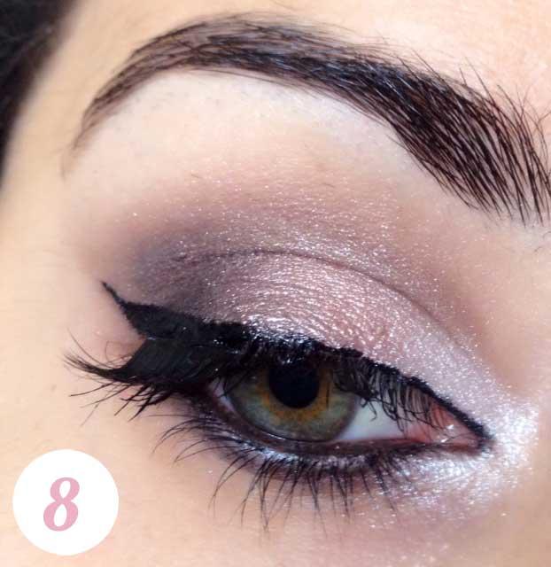 tutorial makeup sposa occhi marroni