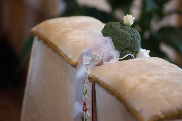 alternative ai fiori di matrimonio: le verdurei per il bouquet della sposa