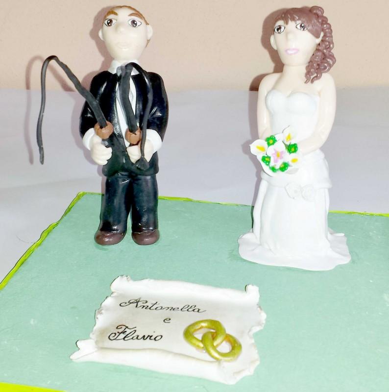 creazioni in fimo cake topper