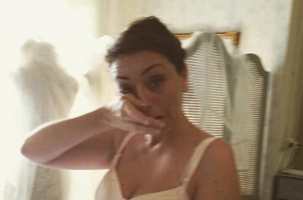 abito da sposa sartoriale toscana