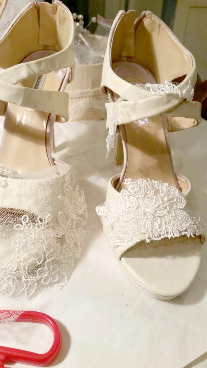 Scarpe Sposa Toscana.Come Personalizzare Scarpe Da Sposa Economiche Sr Diy Blog