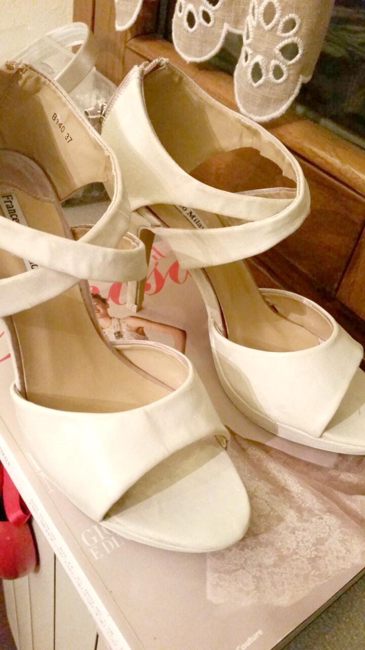 tutorial scarpe da sposa economiche