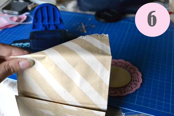 tutorial sacchetti confetti fai da te con le bustine craft