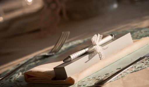 guestbook matrimonio con i centrini di carta