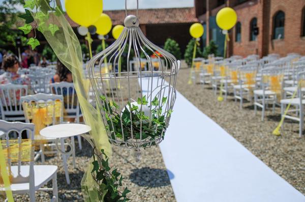 allestimento matrimonio evangelico a Milano